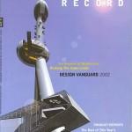 Portada Architectural Record